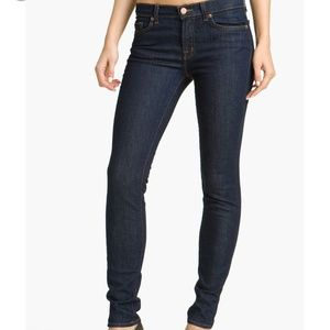 J Brand dark wash 811 Pure wash skinny jeans